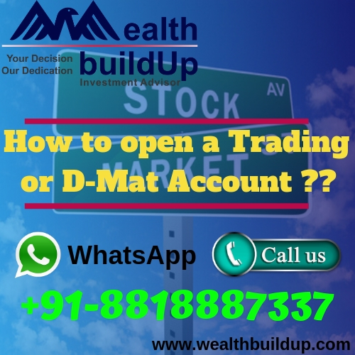How to open a Trading or D-Mat Account